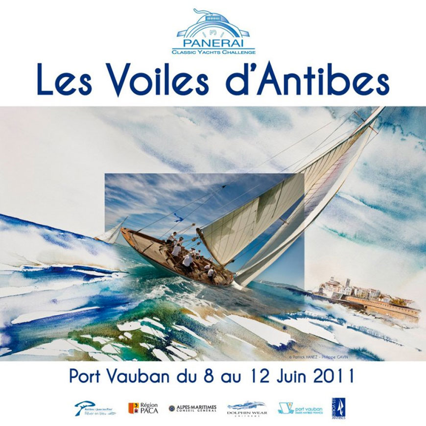 Les voiles d'Antibes 2011