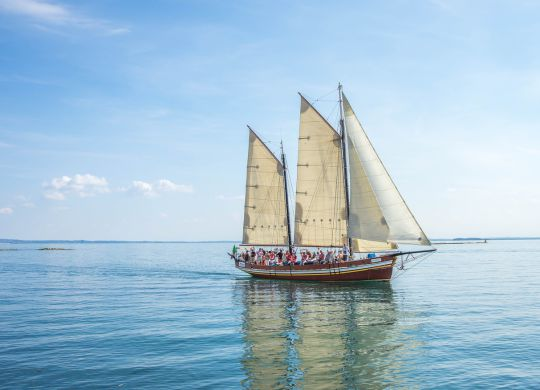 Voyage en voilier