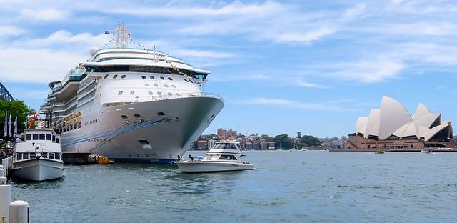 Ship Nsw Australia Sydney Sydney Harbour